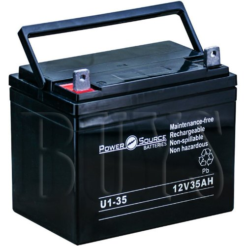 U1-35 AGM 12v 35ah Battery replaces 32ah, 33ah,