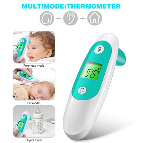 Baby Thermometer, Accurate Forehead Thermometer with Ear Mode, Digital Clinical Thermometer for Baby, Toddler and Adults with with FDA Approved by APOLLED (Image #8)