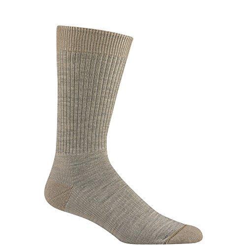 (Wigwam Women's Rebel Fusion Quarter Length Socks, Khaiki, Medium)