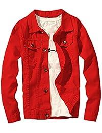 Amazon Com Under 25 Denim Lightweight Jackets Clothing Shoes