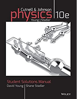 Amazon physics volume one chapters 1 17 9781118836880 john student solutions manual to accompany physics 10e fandeluxe Gallery