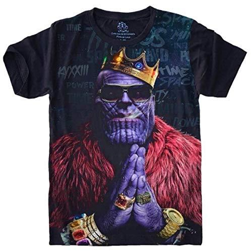 Camiseta Thanos Vingadores Avengers