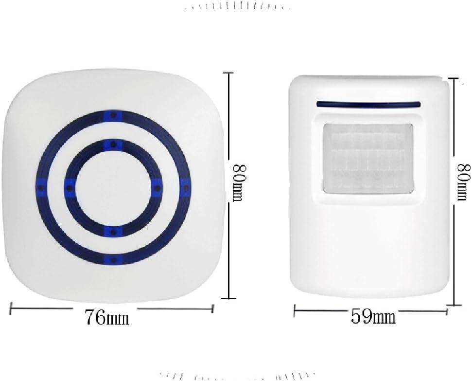 Sharplace Alarme Maison Sans Fil-D/étecteur /à Infrarouge pour Garage,Maison,Entreprise,Bureau-Anti Intrusion-2 R/écepteur+1Sir/ène EU