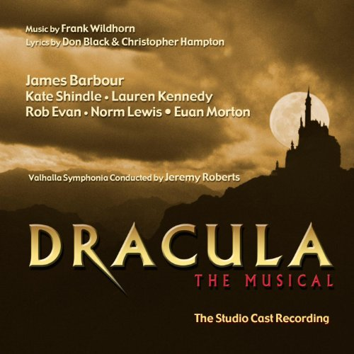 Dracula Musical Studio Cast Recording product image