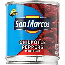 World Wide Foods San Marco's Chipotle Pepper In Adobo Sauce, 7 oz