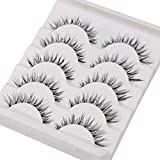 Best False Lashes - False Eyelashes,TianQin WY 5 Pairs Fake Eyelashes Handmade Review