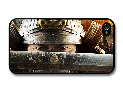 Samurai Eyes Sabre Fighting Martial Arts Cool Style Design coque pour iPhone 4 4S