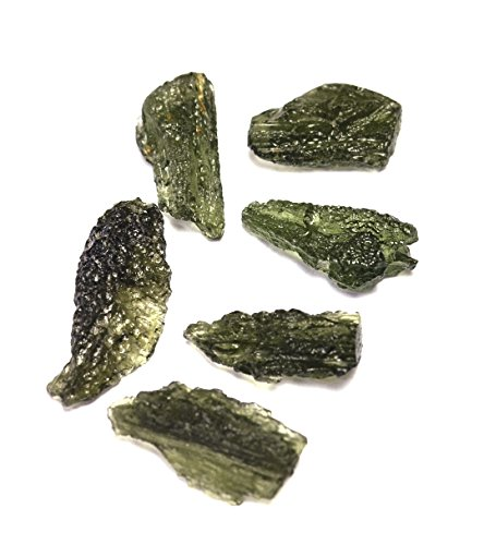 Genuine Rough Moldavite 15-20 Carat Stone