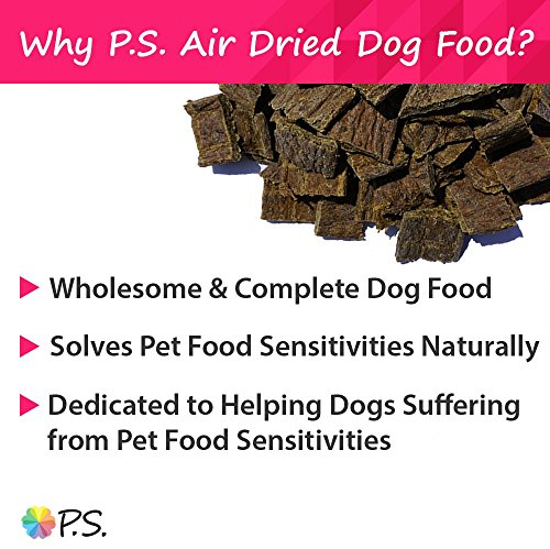 Ps For Dogs 100% Hypoallergenic Dog Food - No More Paw Licking & Skin Scratching - Solves Allergies Naturally - No More Harmful Shots, Pills & Expensive Prescription Food