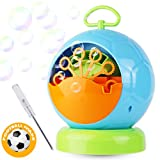 Dadoudou Bubble Machine Automatic Portable Football Shape Bubble Blower for Kids Blowing Over 500 Bubbles Per Minute for Outdoor or Indoor Party By