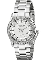 Stuhrling Original Womens 910.01 Symphony Calliope Analog Display Quartz Silver Watch