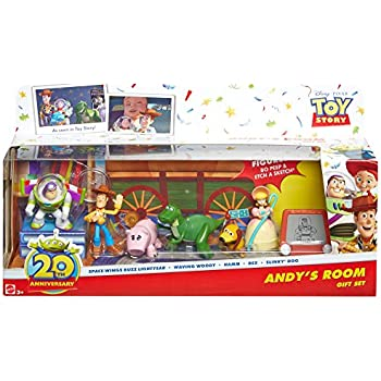 Disney/Pixar Toy Story 20th Anniversary Andy's Room Buddies 7-Pack Gift Set