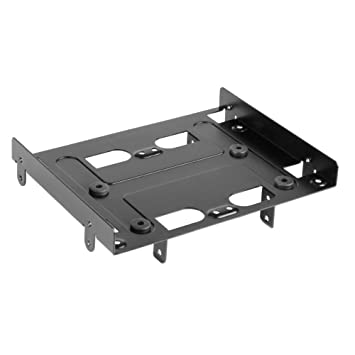 sharkoon 525 inch bayextension mounting frame for hdds and ssds 000skb525b