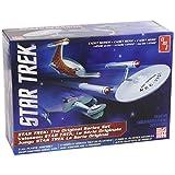 AMT 763 1/2500 Star Trek TOS Era Ship Set, Snap Kit