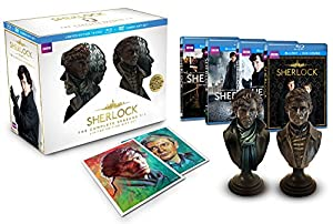 Sherlock Limited Edition Gift Set (The Complete Seasons 1-3 Blu-ray/DVD Combo) by BBC Home Entertainment