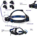 1 Pc Top Level 2200LM Headlamp Rechargeable Waterproof - Best Reviews Guide