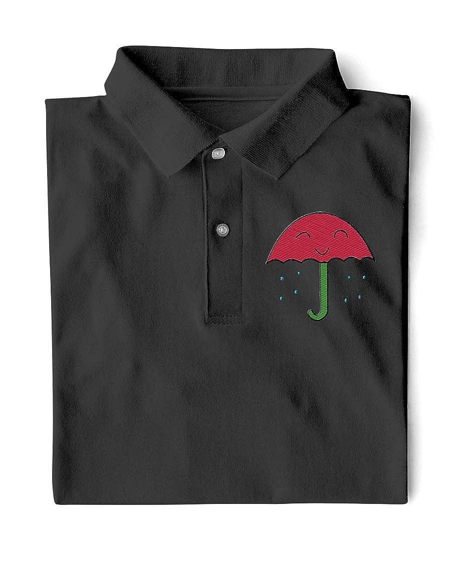 Hillary Chenss HCS Rain Classic Polo Black 3XL