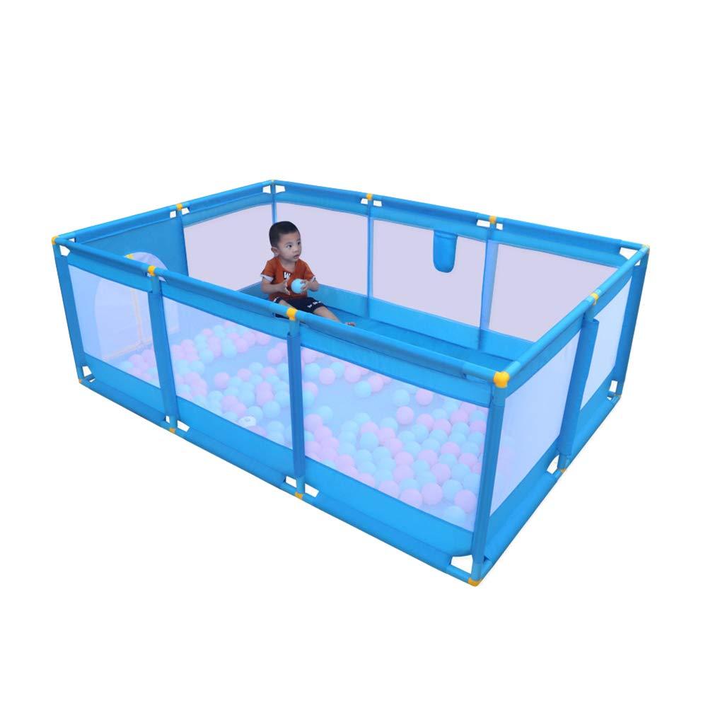 激安特価  赤ちゃん遊び場安全保護柵、室内児童ゲーム柵、家庭用赤ちゃん這う幼児遊び場 : (色 青 (色 : 青) 青 B07L8DJW4Z, OAフォレスト:918672d0 --- a0267596.xsph.ru