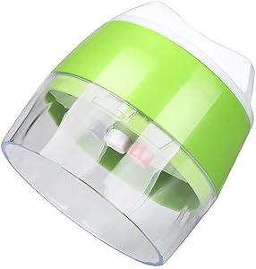 YSUN Vegetable Slicer, Handheld Spiral Vegetables Cutter, 4-1 Can Be Adjusted Food Chopper Kitchen Tools, Suitable for Vegetables, Green