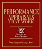 img - for Performance Appraisals That Work: Features 150 Samples for Every Situation by Corey Sandler (2005-10-01) book / textbook / text book