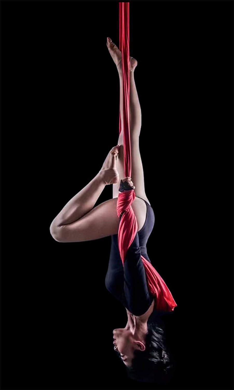 HappyTime Yoga Hängematte Swing,4 Meter x geeignet 2,8 Meter, geeignet x für Indoor 2,2 Meter-2,6 Meter Bodenhöhe,c c13a68