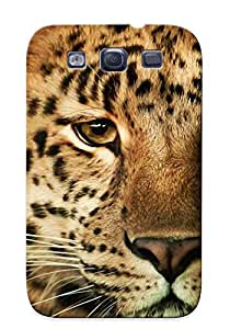 Avermg-2156-ycbletd Premium Animal Leopard Back Cover Snap On Case For Galaxy S3