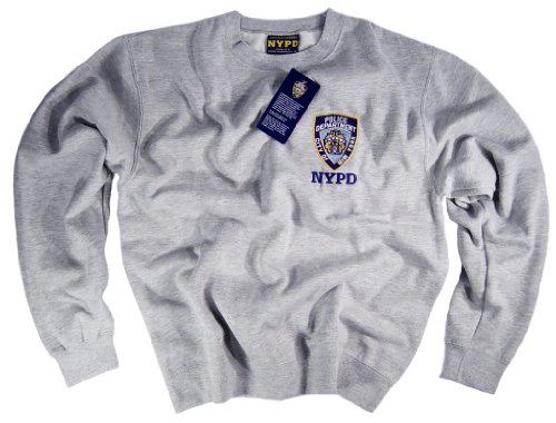 70a702cfc NYPD Shirt Sweatshirt Authentic Clothing Apparel Officially Licensed  Merchandise by The New York City Police Department