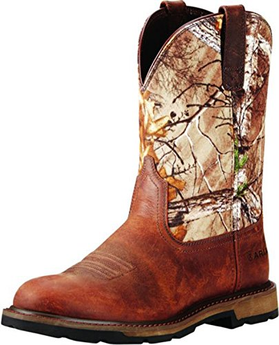 Ariat Heren Groundbreaker Echte Tree Camo Pull On Boot 10020068