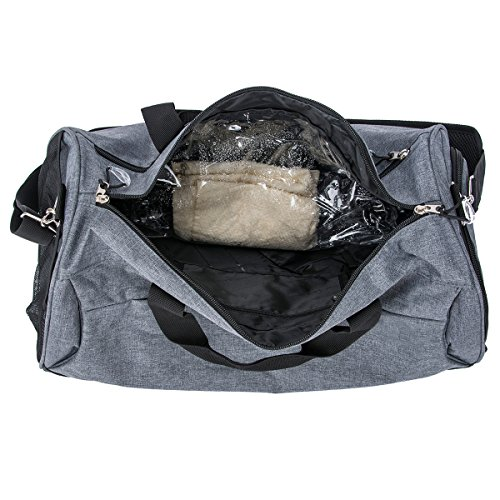 Sports Gym Bag with Shoes Compartment Travel Duffel Bag for Men and Women by Kuston (Image #2)