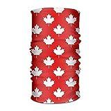 Canada Maple Leaf Pattern Headwear Bandanas Headscarf Helmet Liner Head Wrap Scarf