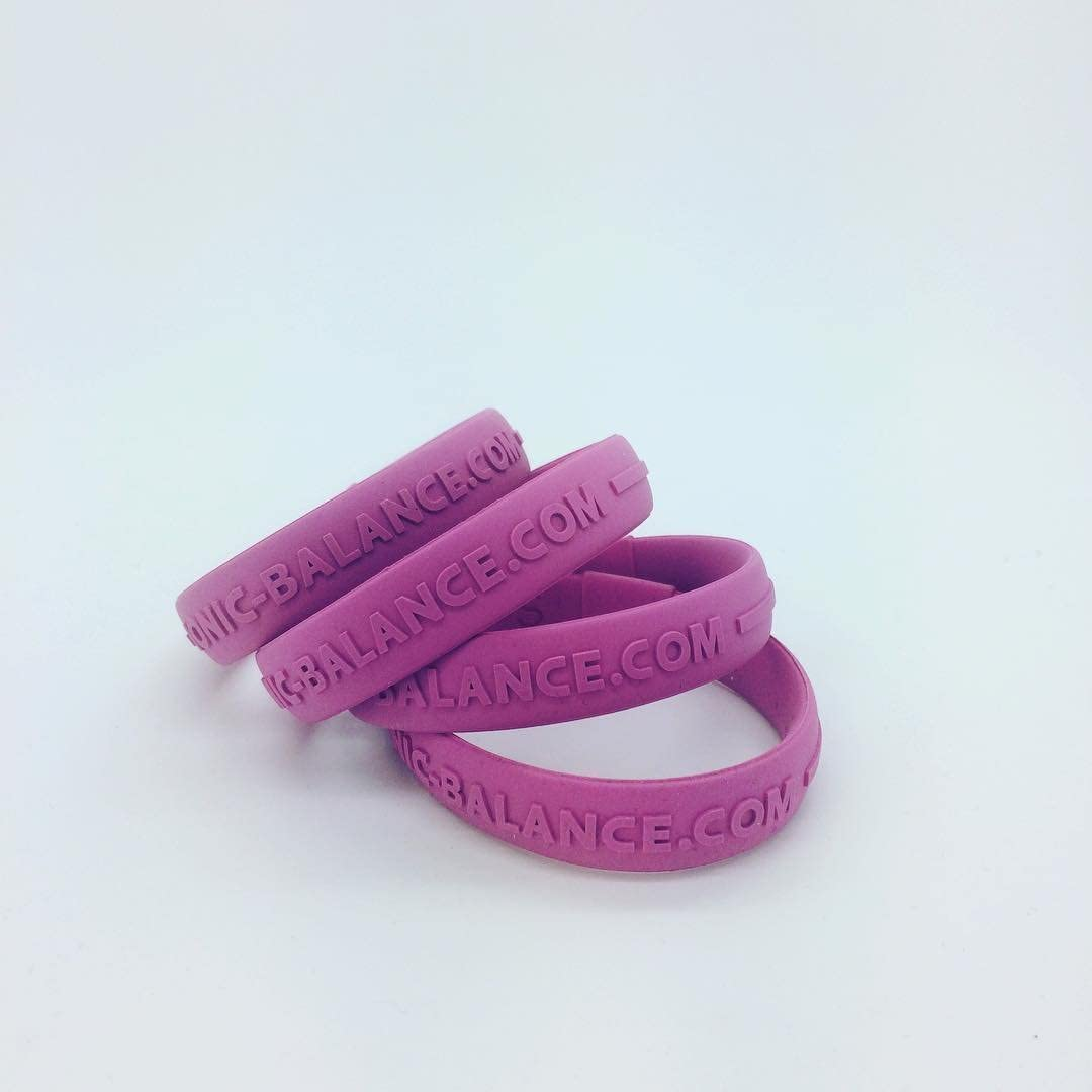 GENUINE CORE Series Ionic Balance Band Pink, Medium - 19cm // 7.5in