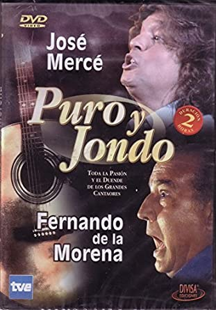 Puro Y Jondo [DVD]: Amazon.es: Jose Merce & Fernando De La Morena ...