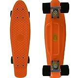 RIMABLE Complete 22' Skateboard OrangeBlack