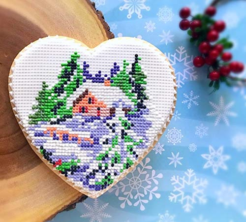 Grid (needlepoint) silicone mat for cake and cookie decorating. by NadiaMLB (Image #3)