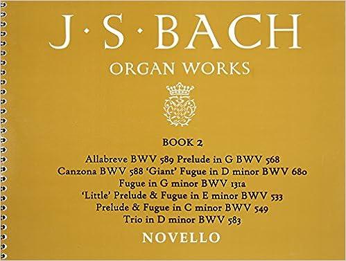 Como Descargar Con Bittorrent J.s. Bach: Organ Works Book 2 De Epub