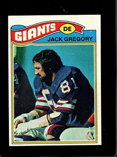 1977 TOPPS #519 JACK GREGORY NM NY GIANTS