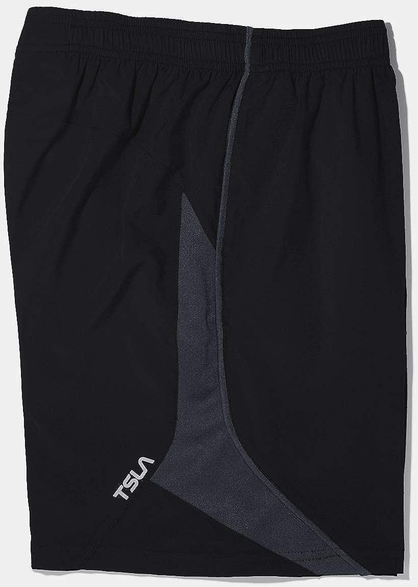 Pack of 1, 2 TSLA Boys Active Shorts Sports Performance Youth HyperDri w Pockets