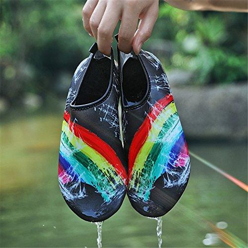 Surf Mens FBA Bk Water Yoga Aqua Socks Pool Womens Swim Quick Beach Exercise Shoes Shoes Dry Breathable Sanyge Shoes white568 for Uq5wHZt