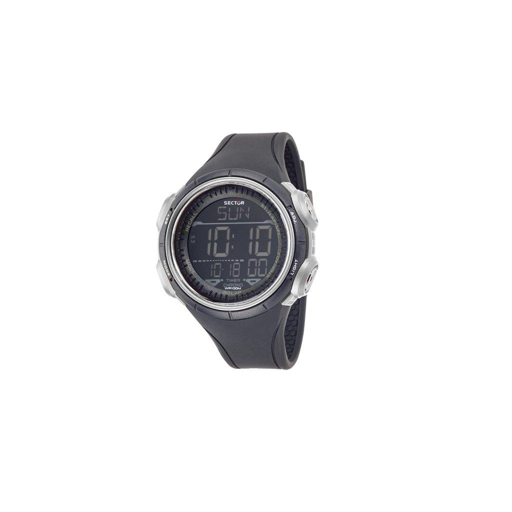 SECTOR NO LIMITS Reloj Digital para Hombre de Cuarzo con Correa en PU R3251590003