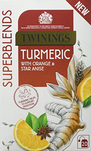 Twinings Super Blends Turmeric Tea Bags Pack Of 4 80