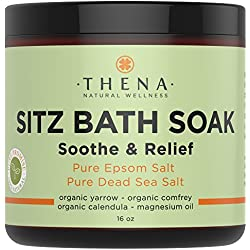 Best Organic Sitz Bath Soak For Natural Postpartum Care Recovery