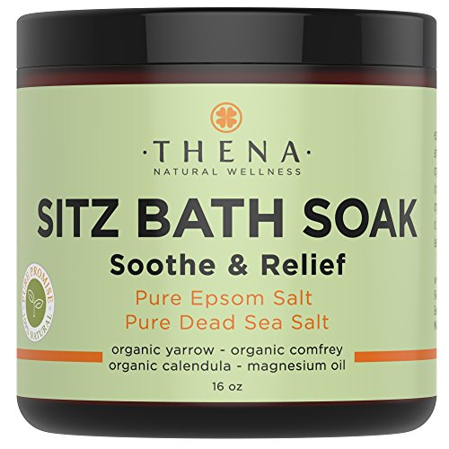 Best Organic Sitz Bath Soak By Thena Wellness