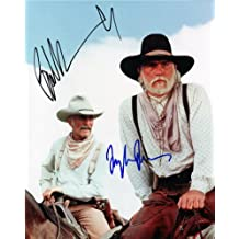 Lonesome Dove Tommy Lee Jones & Robert Duvall Autographed Signed 8 x10 Reprint Photo - (Mint Condition)