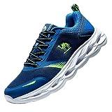 Camel Running Shoes Sport Outdoors Mens Running Shoes Running Mountain Shoes Gym Running Comfortable, Blue-1, 9 UK (44 EU)