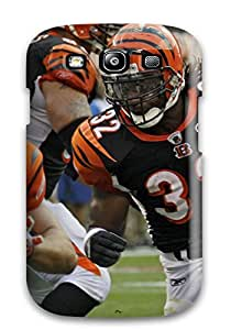 First-class Case Cover For Galaxy S3 Dual Protection Cover Cincinnatiengals