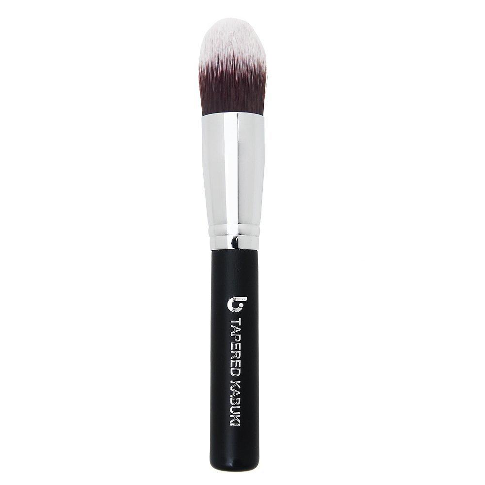Concealer Makeup Brush Tapered Kabuki – Best Eye Brush for Under Eye Concealing Liquid Cream Powder Make Up for Full Coverage Cosmetic Applicator Soft Dense Synthetic Vegan Brochas de Maquillaje
