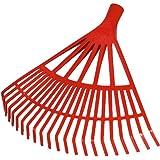 Connex Kunststoff-Laubbesen 500 mm 22 Zinken / Laubrechen / Fächerbesen / Laubharke / Gartenbesen / Garten / FLOR50060
