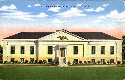 Mint Museum Of Art Charlotte, North Carolina Original Vintage Postcard from CardCow Vintage Postcards