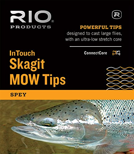 RIO Fly Fishing InTouch Skagit MOW, Medium Tips Kit, Green Black