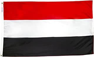 product image for Annin Flagmakers Model 199333 Yemen Flag 3x5 ft. Nylon SolarGuard Nyl-Glo 100% Made in USA to Official United Nations Design Specifications.